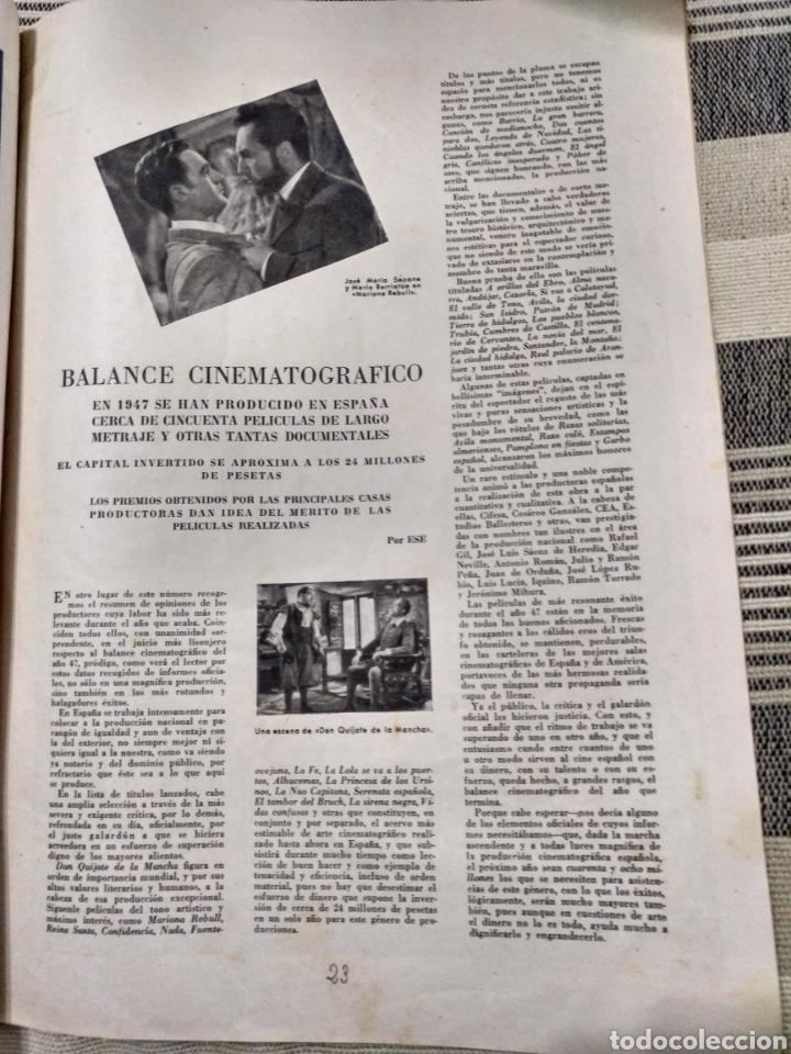 Cine: Dos revistas Radiocinema y una sin tapas. Antiguas - Foto 2 - 121413634