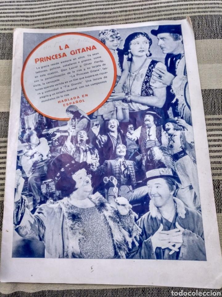 Cine: Dos revistas Radiocinema y una sin tapas. Antiguas - Foto 4 - 121413634