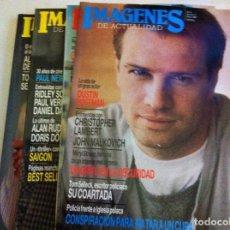 Cine: IMÁGENES -LOTE DE 4 (AÑOS1988-89). Lote 127217651