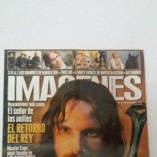Cine: IMÁGENES DE ACTUALIDAD - NUMERO 231 - DICIEMBRE 2003. Lote 121731027