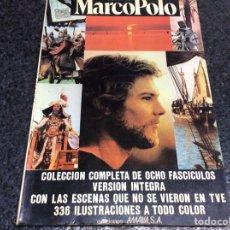 Cine: MARCO POLO. COLECCIÓN COMPLETA 8 FASCÍCULOS EN UN TOMO VERSIÓN ÍNTEGRA, SERIE TVE -ED. AMAIKA, 1983. Lote 121763235