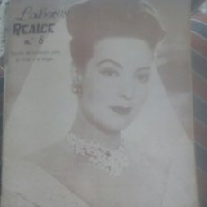 Cine: LABORES REALCE N 8 MARIA FELIX 1949. Lote 121863662