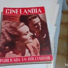 Cine: CINELANDIA - CAROLE LOMBARD JAMES STEWART. Lote 121874231