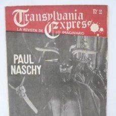 Cine: TRANSYLVANIA EXPRESS. Nº 2. MARZO 1981. Lote 121881915