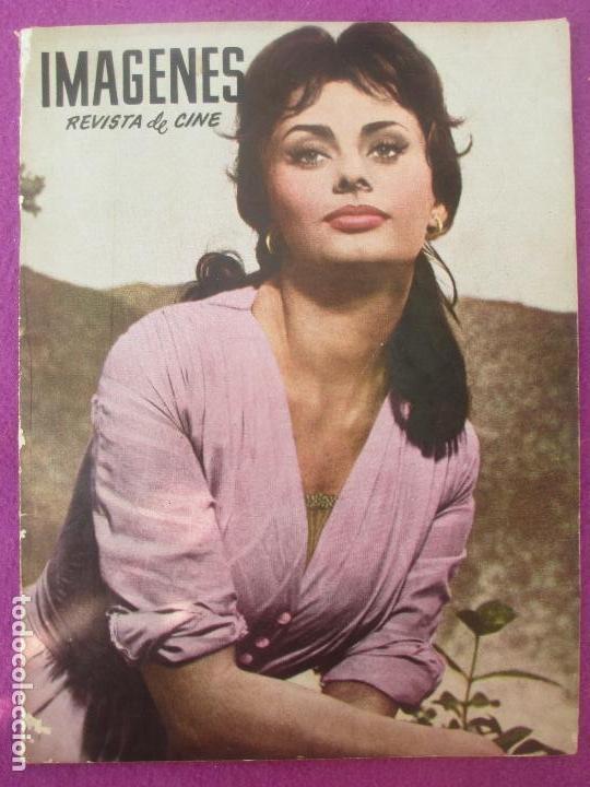 REVISTA IMAGENES, REVISTA DE CINE, Nº 178, 1959, SOFIA LOREN (Cine - Revistas - Otros)