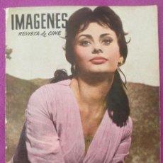 Cine: REVISTA IMAGENES, REVISTA DE CINE, Nº 178, 1959, SOFIA LOREN. Lote 121891059