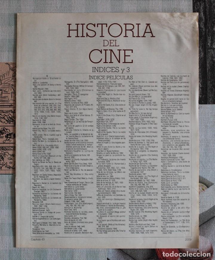 LA GRAN HISTORIA DEL CINE - TERENCI MOIX - ÍNDICES (Cine - Revistas - La Gran Historia del cine)