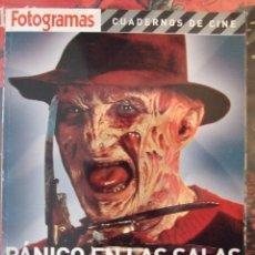 Cine: FOTOGRAMAS PANICO EN LAS SALAS - CUADERNOS DE CINE 2005. Lote 122024735