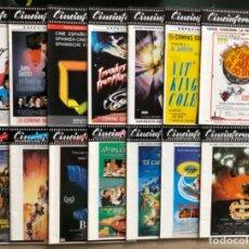 Cine: CINEINFORME, REVISTA CINEMATOGRÁFICA ESPAÑOLA AÑO 1985. 14 REVISTAS (LOS GOONIES, OZ, EWOKS,...).. Lote 122112707