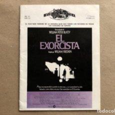 Cine: CINEINFORME, REVISTA CINEMATOGRÁFICA ESPAÑOLA N° 232 (OCT. 1975). -EL EXORCISTA -. Lote 122118563