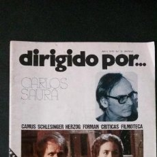 Cine: DIRIGIDO POR... Nº 32-ABRIL 1976-CARLOS SAURA. Lote 122125207