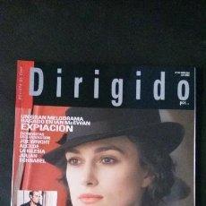 Cine: DIRIGIDO POR... Nº 374-ENERO 2008. Lote 122125259