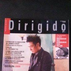 Cine: DIRIGIDO POR... Nº 376-MARZO 2008. Lote 122125383