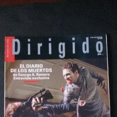 Cine: DIRIGIDO POR... Nº 380-JULIO-AGOSTO 2008. Lote 122125619