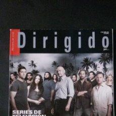 Cine: DIRIGIDO POR... Nº 399-ABRIL 2010-SERIES DE TELEVISION. Lote 122136755
