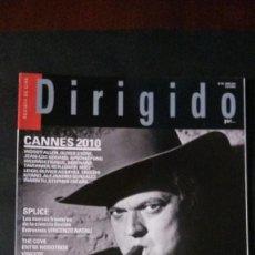 Cine: DIRIGIDO POR... Nº 401-JUNIO 2010. Lote 122136903