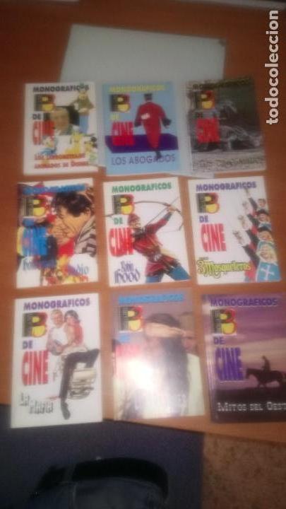 MONOGRAFICOS DE CINE PANTALLA 3 COLECCION COMPLETA (Cine - Revistas - Otros)