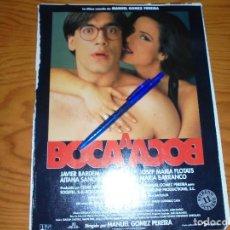Cine: PUBLICIDAD DE LA PELICULA : BOCA A BOCA, JAVIER BARDEM. FOTOGRAMAS, OCTUBRE 1995. Lote 122288955
