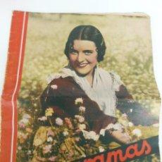 Cine: CINEGRAMAS Nº81.1936.IMPERIO ARGENTINA.ANA PAVLOVA,RICARDO NUÑEZ,MARY-LOLI HIGUERAS,MARLENE DIETRICH. Lote 122301011