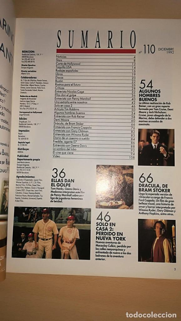 Cine: Revista Imagenes de Actualidad 110 (Diciembre 1992) Todo sobre Dracula de Coppola - Foto 2 - 122301363