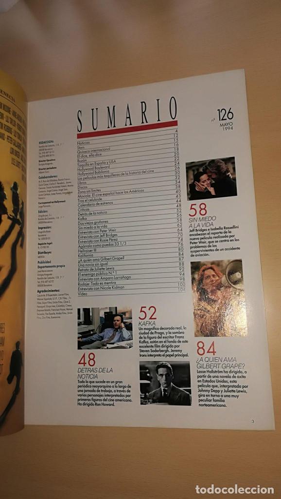 Cine: Revista Imagenes de Actualidad 126 (Mayo 1994) Indice en el resto de fotos - Foto 2 - 122302075