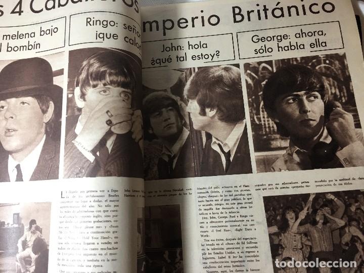 Cine: RA4 ANTIGUA REVISTA CINE EN 7 DIAS 221 año 1965 llegaron los Beatles - Foto 4 - 122451639