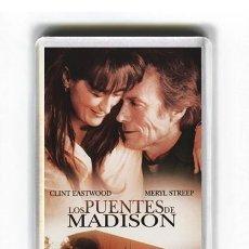 Cine: IMAN ACRILICO NEVERA - CINE LOS PUENTES DE MADISON CLINT EASTWOOD. Lote 122494415