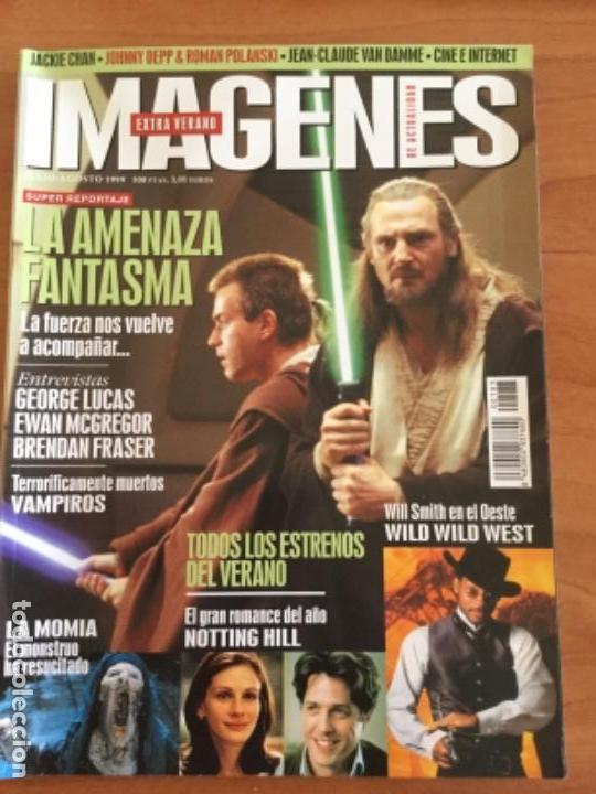 IMÁGENES DE ACTUALIDAD. EXTRA DE VERANO 1999 Nº183 LA AMENAZA FANTASMA, GEORGE LUCAS (Cine - Revistas - Imágenes de la actualidad)