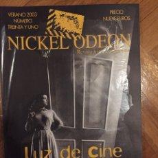Cine: NICKEL ODEON 31(VERANO 2003). Lote 122949222