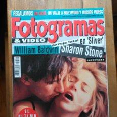 Cine - Revista Fotogramas. Septiembre 1993 - 123549492