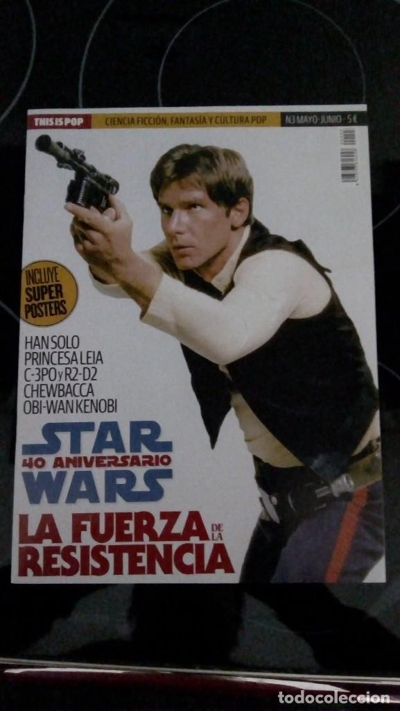 STAR WARS, 40 ANIVERSARIO. REVISTA (Cine - Revistas - Star Ficcion)