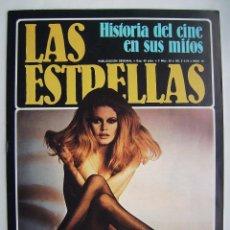 Cine: JAMES DEAN. BRIGITTE BARDOT. REVISTA-FASCÍCULO LAS ESTRELLAS. 1980.. Lote 222283346
