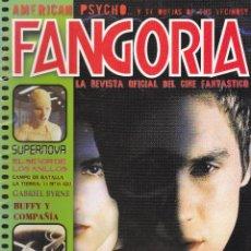 Cine: REVISTA FANGORIA Nº 1-SEGUNDA EPOCA. Lote 124235807