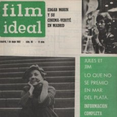 Cinema: FILM IDEAL Nº 95 - REVISTA CINEMATOGRAFICA - DE CINE. Lote 124445463