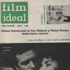 Cine: FILM IDEAL Nº 96 - REVISTA CINEMATOGRAFICA - DE CINE. Lote 124445503