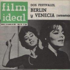 Cine: FILM IDEAL Nº 101 - REVISTA CINEMATOGRAFICA - DE CINE. Lote 124446083