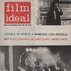 Cine: FILM IDEAL Nº 104 - REVISTA CINEMATOGRAFICA - DE CINE. Lote 124446347