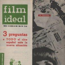 Cine: FILM IDEAL Nº 105 - REVISTA CINEMATOGRAFICA - DE CINE. Lote 124446391