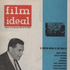 Cine: FILM IDEAL Nº 110 - REVISTA CINEMATOGRAFICA - DE CINE. Lote 124446883