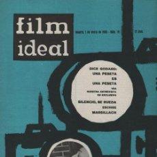 Cine: FILM IDEAL Nº 111 - REVISTA CINEMATOGRAFICA - DE CINE. Lote 124446923