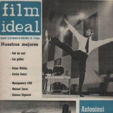 Cine: FILM IDEAL Nº 114 - REVISTA CINEMATOGRAFICA - DE CINE. Lote 124447103