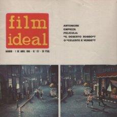 Cine: FILM IDEAL Nº 117 - REVISTA CINEMATOGRAFICA - DE CINE. Lote 124447243