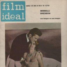 Cine: FILM IDEAL Nº 118 - REVISTA CINEMATOGRAFICA - DE CINE. Lote 124447347