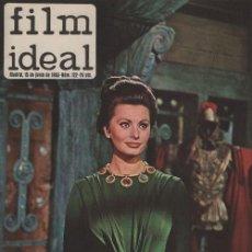 Cine: FILM IDEAL Nº 122 - REVISTA CINEMATOGRAFICA - DE CINE. Lote 124447491