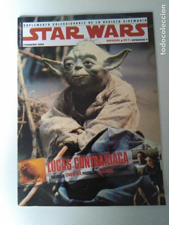 Cine: Lote revistas Star Wars - Suplementos Cinemanía, Cinerama - Foto 3 - 124613503