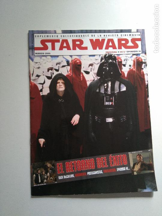 Cine: Lote revistas Star Wars - Suplementos Cinemanía, Cinerama - Foto 4 - 124613503