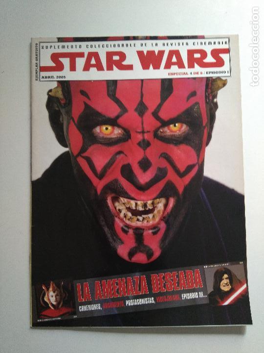 Cine: Lote revistas Star Wars - Suplementos Cinemanía, Cinerama - Foto 5 - 124613503