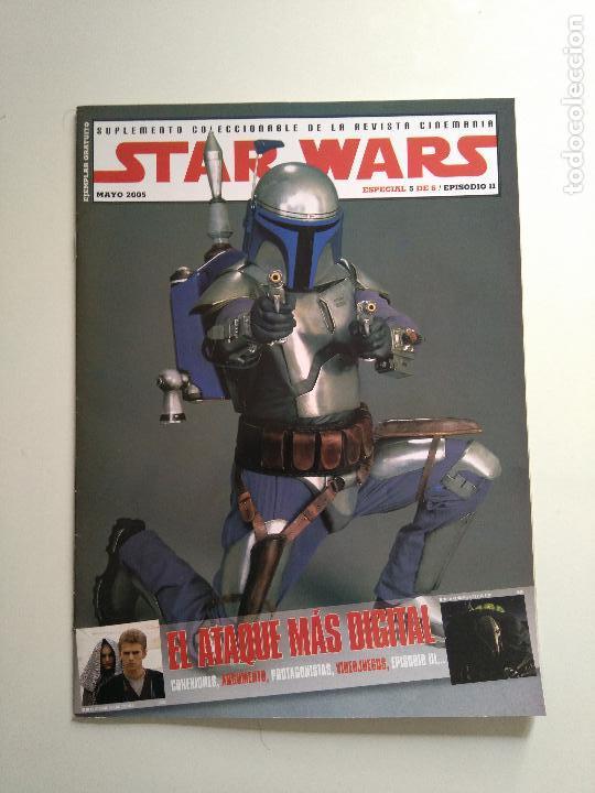 Cine: Lote revistas Star Wars - Suplementos Cinemanía, Cinerama - Foto 6 - 124613503