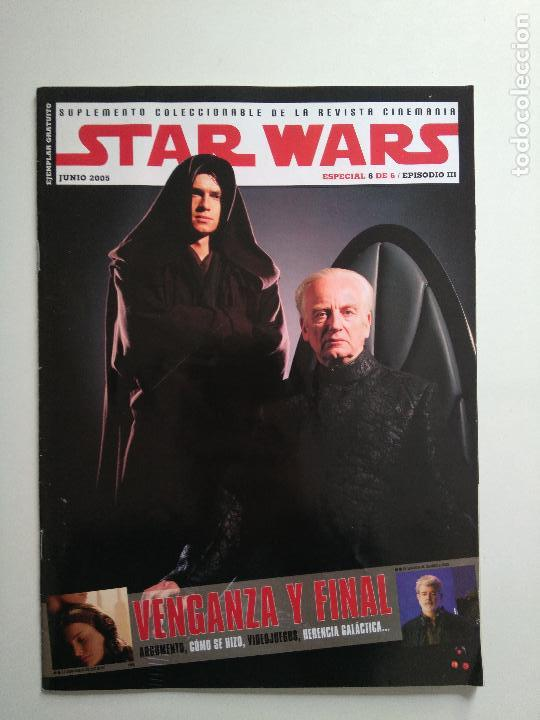 Cine: Lote revistas Star Wars - Suplementos Cinemanía, Cinerama - Foto 7 - 124613503