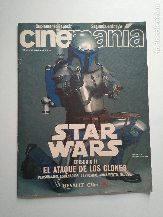 Cine: Lote revistas Star Wars - Suplementos Cinemanía, Cinerama - Foto 8 - 124613503